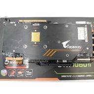 GIGABYTE AORUS GeForce GTX 1080 Ti 11G原廠保固內 9成新