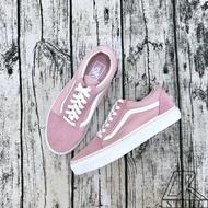 免運🚗-DTK-實體店面🎖Vans Old Skool 粉白 女生專屬 基本款 滑板鞋 麂皮 帆布鞋 粉色 vans基本款 百搭 經典