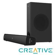 【Creative】STAGE V2 桌上型喇叭(Soundbar+低音喇叭)