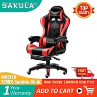 ▩♤Sakula Gaming Chair Office  Adjustable Ergonomic with footrest (BLACK)