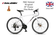 "[READY STOCKS] [FULLY ASSEMBLED] Raleigh 30 speed 700C Hybrid Bicycle 19"" Frame Bike"