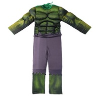 factory Incredible Hulk Costume Avengers Child Muscle Green Hulk Outfit Jumpsuit Halloween New Year