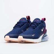 POMELO柚 Nike Wmns Air Max 270 女鞋 氣墊 休閒鞋 深藍 紫色 AH6789-402