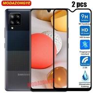 2 Pcs Samsung A42 5G Tempered Glass Samsung Galaxy A42 5G GalaxyA42 Glass Screen Protector Film