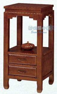 ╭☆雪之屋居家生活館☆╯二抽高小方桌BB402-5#7604B