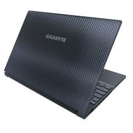 【Ezstick】GIGABYTE Aero 15X V8 黑色立體紋機身貼(含上蓋貼、鍵盤週圍貼)