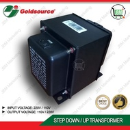Goldsource Auto-Switch Transformer (110V / 220V) 1000 Watts to 3000 Watts