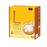 seoul121*韓國 LOOKAS 9 Dolce 拿鐵 50+50包 預購