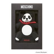全新現貨 義大利 MOSCHINO 限量絕版 軟膠 黑白色熊貓 紅色蝴蝶結 iPhone5/ 5S/ SE 硬殼 手機殼
