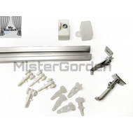 Alumix Rell Curtains / Curtain Rods / Aluminum Curtains Rell / Curtain Box Rods