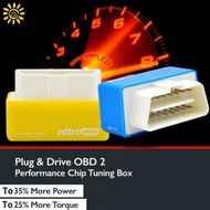 Auto Eco OBD2 Car Eco OBD2 Eco OBD2 Durable Economy Tuning Box Chip Drive Nitro Technical 4 Colors Benzine Gas Saving