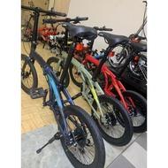 """20"""" JAVA  Zelo foldable bicycle bike  7speed Shimano"""