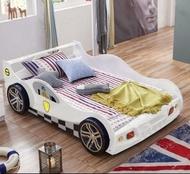 綠巨人家具網*兒童床男孩卡通家具女孩公主床跑车汽车床白色1.5米小孩套房,樂天雙11