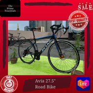 """The Prime Essentials AVIA 27.5"""" All Alloy AVIA Storm V8 Xtreme Pro 700c Road Bike Equipped w/ SHIMANO PARTS"""