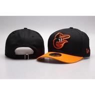 MLB巴爾的摩金鶯(Baltimore Orioles)可調節男女通用帽子 MLB 鴨舌帽 彎帽 運動帽