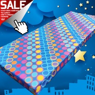 YOU.S original high-quality mattress foam (4-30-75/4-36-75 single bed foam/4-42-75/4-48-75 double bed foam/4-54-75/4-60-75 foam bed family size),Size inches,breathable,comfortable mattress,polyester cotton overlay foam bed
