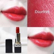 DIOR Lipstick Intense Blue Gold ลิปสติก 999 Matte and ลิปสติก 999 Dior ขนาดตัวอย่าง ลิปสติก Lacquer 1.5G ลิปบาล์ม