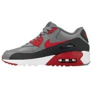 Nike รองเท้าแฟชั่นผู้ชาย Nike Air Max 90 ของแท้แน่นอน เทาแดง เบอร์ 40-39