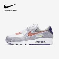 Nike Men's Air Max 90 Shoes - White ไนกี้ รองเท้าผู้ชาย แอร์ แม็กซ์ 90 - สีขาว