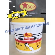 500g SCP Wall Putty Filler, Skim Instant Filla for Interior & Exterior [For Wall Crack]