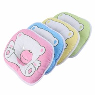 Baby Newborn Infant Kids Pillow Memory Foam Positioner Prevent Flat Head Anti Roll Cartoon Mini Pillow For Children Kids Baby