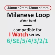 Milanese Loop Strap for Apple Watch 6 5 4 SE 38mm 42mm Stainless Steel Magnetic Buckle Band Strap for iwatch Series 44mm 40mm