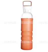 Snapware Corning heat-resistant glass anti-drop portable sports water bottle SN-OZ500-OR/CN
