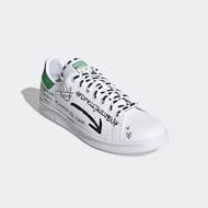 ADIDAS 休閒鞋 貝殼鞋 經典 皮革 男女鞋 白綠 GV9800 STAN SMITH