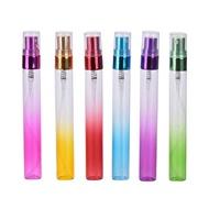 MINI แบบพกพาสีสันแก้วสเปรย์น้ำหอมขวด Atomizer สำหรับกระเป๋าเดินทางผู้หญิงใหม่ 1PC 10ml Refillable คอนเทนเนอร์...