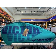 勝利Victor羽球袋青綠輕盈拍袋羽球袋休閒運動袋