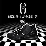NIKE KYRIE 5 GS 耐吉 大童 女鞋 IRVING 厄文 五代 籃球鞋 黑魂 AQ2456-016