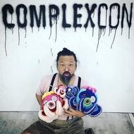 OCTOPUS COMPLEXCON  限量 村上隆 章魚 絨毛玩偶 兩支一組販售