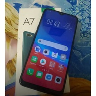 Oppo A7 Second Fullset Mulus