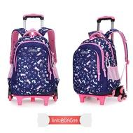 BAG99  กระเป๋านักเรียนล้อลาก 3ล้อไต่บันได สีน้ำเงิน Rabbit // กระเป๋าเป้เด็ก  กระเป๋าเด็ก  กระเป๋าสะพายเด็ก  กระเป๋าลากเด็ก  กระเป๋านักเรียนเด็ก  กระเป๋าเด็กอนุบาล  กระเป๋าเดินทางเด็ก  กระเป๋าล้อลากเด็ก