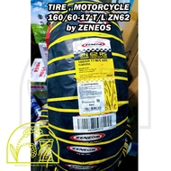 TUBELESS MOTORCYCLE TIRE 110 70 17  120 70 17  130 60 17  150 60 17  160 60 17 BY ZENEOS ZN62