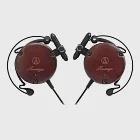 鐵三角 ATH-EW9 限量櫻木 耳掛式耳機〔不要說沒介紹妳這好物〕酒紅色