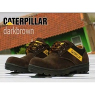 CATERPILLAR BROWN | Caterpillar Safety Shoes Low Hangout Outdoor Style