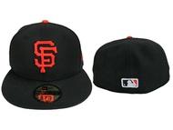 【9731312-016】MLB 美國大聯盟 NEW ERA 球員帽 巨人隊 黑色 2017