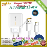 Oppo Fast Charging Charger 65w Super Vooc Type C Usb (ss)