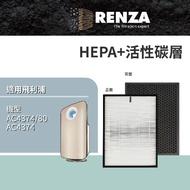 【RENZA】濾網 適用飛利浦 PHILIPS AC4373 AC4374(可替代AC4138)