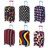 LALANG กระเป๋าถือเดินทางฝาครอบกันฝุ่นกระเป๋าเดินทาง antifouling ฝาครอบป้องกันรูปหลายเหลี่ยม S สำหรับ 18-20 นิ้ว (Multicolor) - INTL