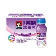 【QUAKER 桂格】完膳營養素100鉻含纖配方237ml×6瓶/盒