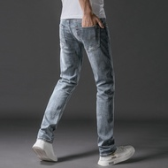 Levis Levi's Jeans Male 502 Light Color Slim Stretch To Do The Old Summer Thin Casual Straight Long Pants