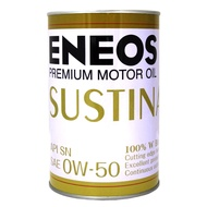 ENEOS SUSTINA 0W50 新日本石油 全合成機油