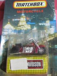 ออกจากพิมพ์ Global Matchbox Matchbox หุ่นอัลลอย Harley-มอเตอร์ไซค์ Davidson Nostalgic Collection