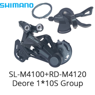 Shimano 2020 new Deore M4100 1x10S MTB bike Derailleurs Groupset SL-M4100 Shifter Lever RD-M4120 Rear bicycle switch basic m6000