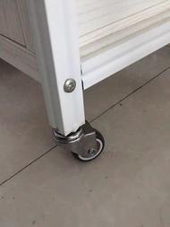 1.5นิ้ว4PCSล้อเบรคเฟอร์นิเจอร์ยางนุ่มเงียบล้อTPE PlatformTrolleyเก้าอี้ครัวเรือน5AAอุปกรณ์ติดตั้ง