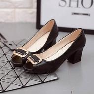 รองเท้าส้นสูงคัชชู แฟชั่นผู้หญิง