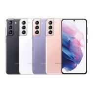 SAMSUNG Galaxy S21 8G/256G 6.2吋八核雙卡IP68雙防5G智慧手機↗加碼送SS30立體聲頭戴式耳機麥克風星媚紫