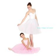 親子芭蕾演出服芭蕾裙成人專業芭蕾舞裙大型演出連身裙蓬蓬公主裙